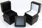 PENDANT BOX MATT BLACK WOOD BLACK PAD
