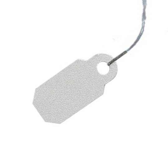 ARCH CROWN TAGS 907 CLASSIC SILVER - 100 PACK