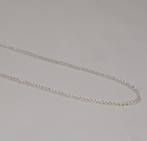 ANNA CURB CHAIN SILVER PLATED 3.4X4.4MM (1 MTR)