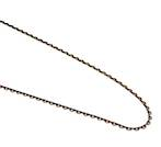 D LINK FINE CHAIN ANTIQUE BRASS 2.5X3.5MM (1 MTR)