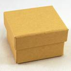CBR - RING BOX CARDBOARD BROWN RECYCLABLE BROWN INSERT