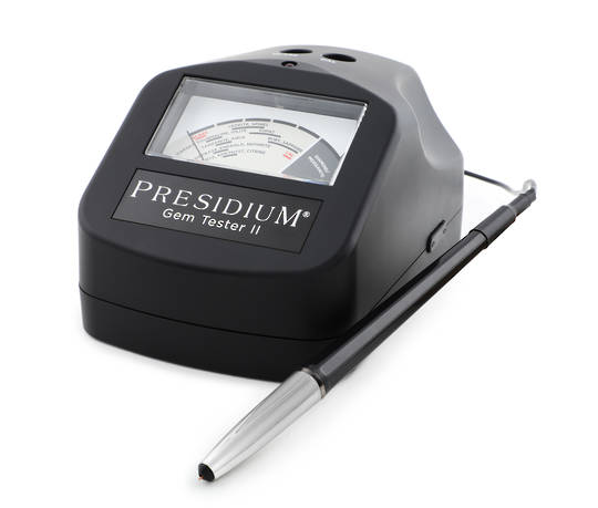 PRESIDIUM GEM TESTER - COLOURED STONE ESTIMATOR - PGT II