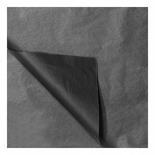 TISSUE PAPER ACID-FREE BLACK 250 x 250MM (96 PCS)
