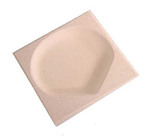 SQUARE CRUCIBLE 65mm X 65mm