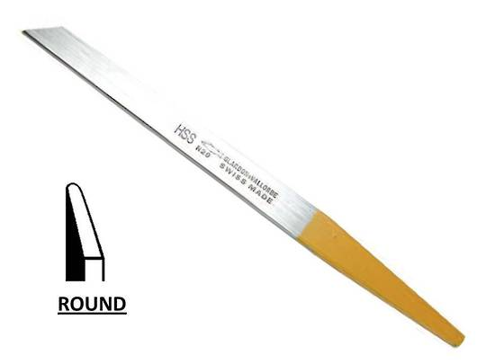 GRAVERS - HSS ROUND EDGE 1.2mm