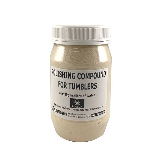 POLISHING COMPOUND FOR TUMBLER