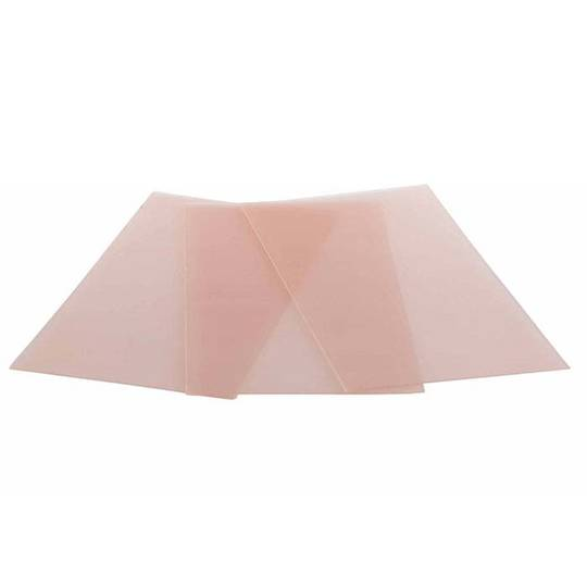 "WAX SHEETS 150 x 75mm (3 x 6"") PINK - SOFT - 20 Gauge"