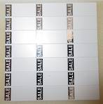 ZETAGS D3-SALE-PAD LABELS SILVER 420PCS
