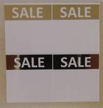 ZETAGS D5-SALE-PAD LABELS GOLD 96PCS