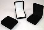 SSP1 - MEDIUM PENDANT BOX BLACK FLOCK BLACK PAD