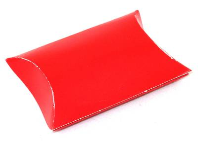 ENVELOPE BOX SMALL CARDBOARD GLOSS RED (1 DOZ)