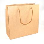BROWN MEDIUM CARRY BAG BROWN STRINGS BULK DEAL (30 PCS)