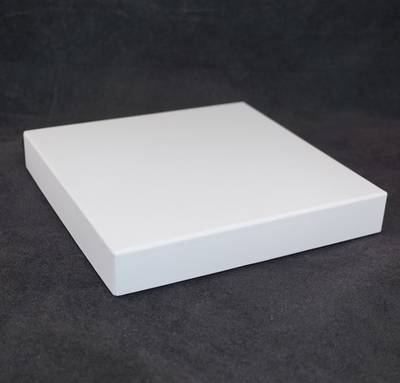 CB20 - NECKLACE BOX CARDBOARD WHITE BLACK PAD