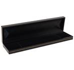 SDB - BRACELET BOX BLACK LEATHERETTE BLACK PAD