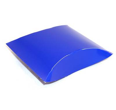 ENVELOPE BOX MEDIUM CARDBOARD GLOSS BLUE (1 DOZ)