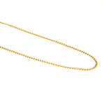 DEBBIE FINE CURB CHAIN GOLD PLATED 2.3X4MM (1 MTR)