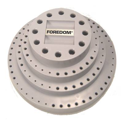 FOREDOM ROTARY BUR STAND Varying Hole Sizes