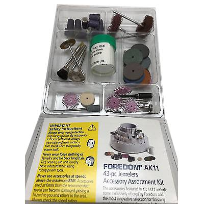 FOREDOM 43 Piece ACCESSORIES Kit