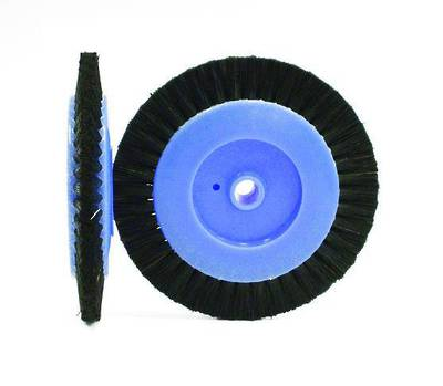 CIRCULAR BLACK BRISTLE LATHE BRUSH 70mm