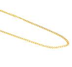 MARLENE CURB CHAIN GOLD PLATED 3.6X5.2MM (1 MTR)
