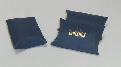 ENVELOPE BOX SMALL CARDBOARD MATT BLUE (1 DOZ)