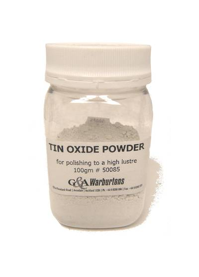 TIN OXIDE POWDER 100g JAR