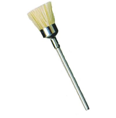 CUP BRUSH WHITE BRISTLE 12mm x 8mm