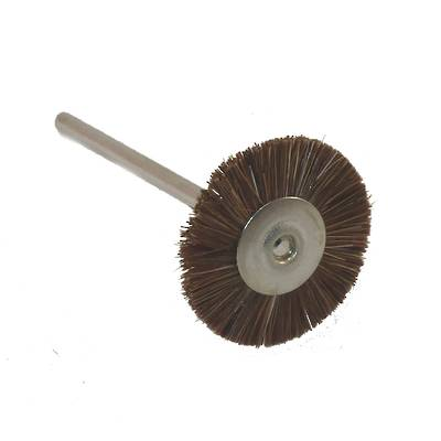 GOAT HAIR BRISTLE BRUSH 21mm - MED Brown