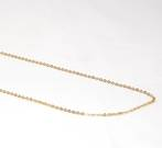 PRISCILLA FINE CABLE CHAIN GOLD PLATED 2X2.5MM  (1 MTR)