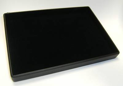 PRESENTATION / DISPLAY TRAY BLACK VELVET INSERT