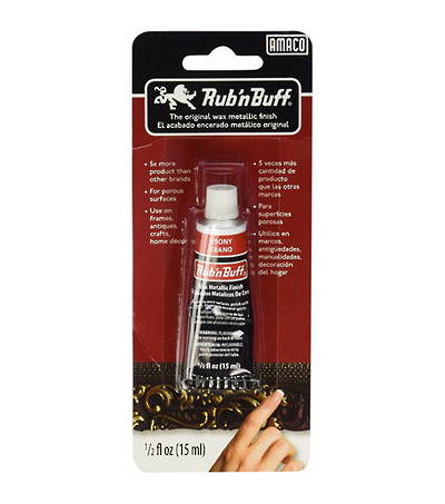 RUB N BUFF 15ML EBONY BLACK