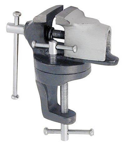 BENCH VICE G-CLAMP SWIVEL BASE TYPE