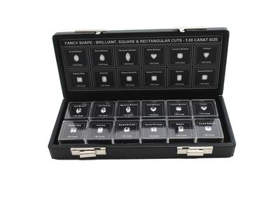 DIAMOND CZ MASTER GRADING SET FANCY SHAPE