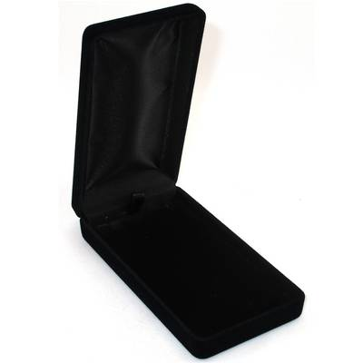 SSLP - LONG PENDANT BOX BLACK FLOCK BLACK PAD BULK (24 UNITS)